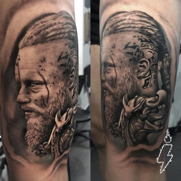 tatuaje de ragnar